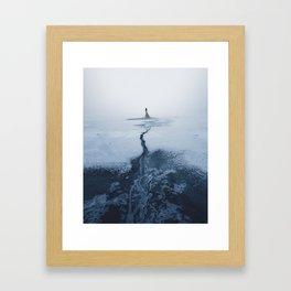 Winter's Sorrow Framed Art Print