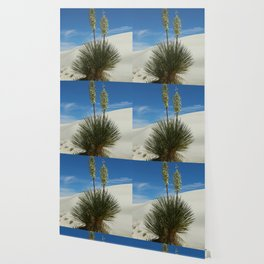 Soap Yucca In The White Sands Dunes Wallpaper