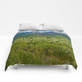 Colorado cattle ranch Comforters