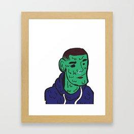 Sad Boy 2 Framed Art Print