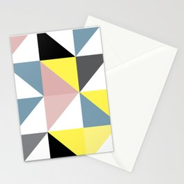 Triangle Scandinavian Art Stationery Cards