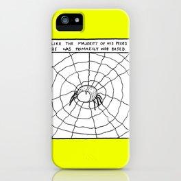 WEB BASED iPhone Case