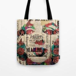 sepia Mrs. Monroe Hollywood POP ART CELEBRITY Tote Bag