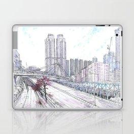 Hong Kong Sakura blossom Laptop & iPad Skin