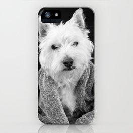 I hate Mondays Westie Dog iPhone Case