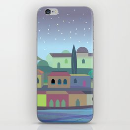 Bordeaux Night iPhone Skin