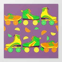 Fruit Roll Canvas Print