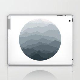 Silver Dew Mountains Laptop & iPad Skin
