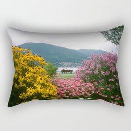 Tegernsee Romance Rectangular Pillow