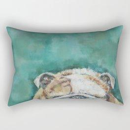 Mr Bulldog Rectangular Pillow