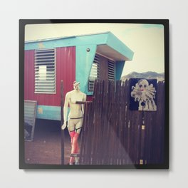 A Day at the Trailers Metal Print