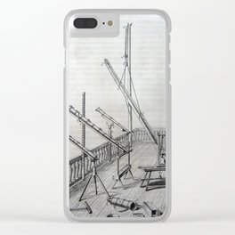 Johannes Hevelius - Celestial Devices, Part 1 - Plate 5 Clear iPhone Case