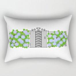 Segno Gate & Fermata Hydrangea Rectangular Pillow