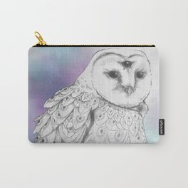 Owl Of The Third Eye Carry-All Pouch