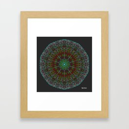 Cluster Framed Art Print