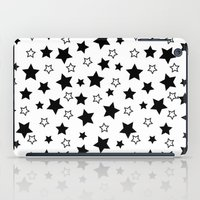house stark iPad Cases featuring Stark Stars by SonyaDeHart