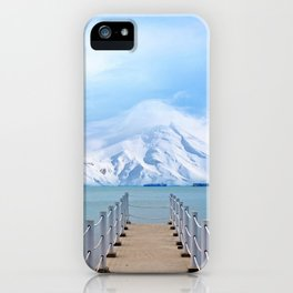 Meet me in the middle iPhone Case