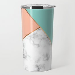 Marble Geometry 056 Travel Mug