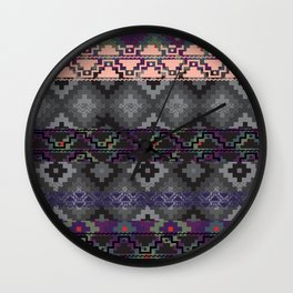 Russian style inspired Aztec Wall Clock