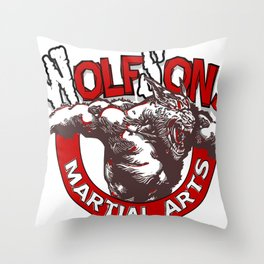 WolfSons2 Throw Pillow