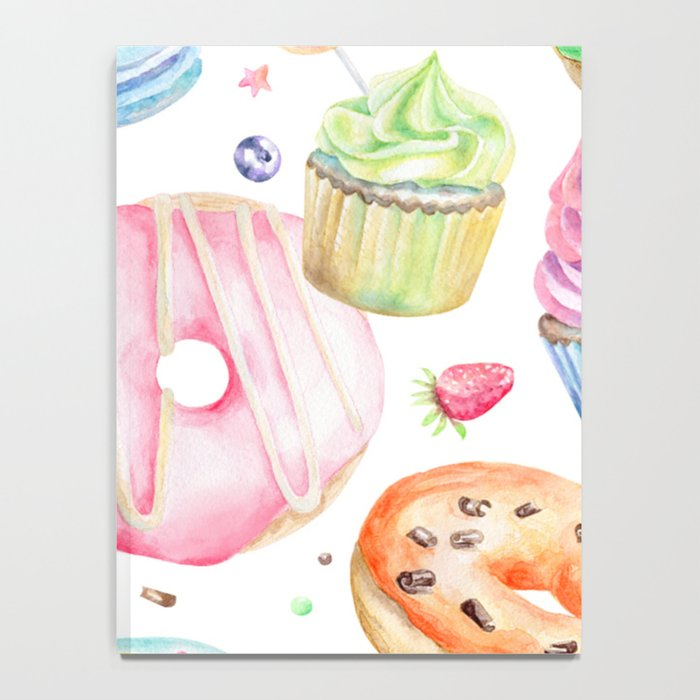 Sweets Pattern Notebook