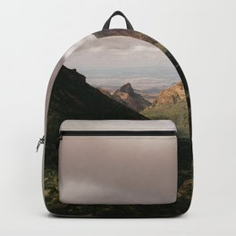 Mountain View in Big Bend National Park Backpack