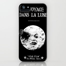 A Trip To The Moon Georges Méliès iPhone Case