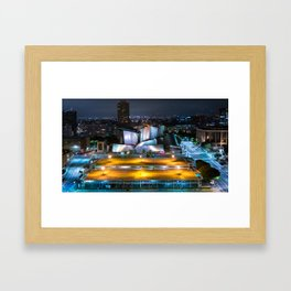 Concert Hall In LA Framed Art Print