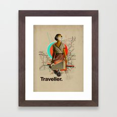 Traveller Framed Art Print
