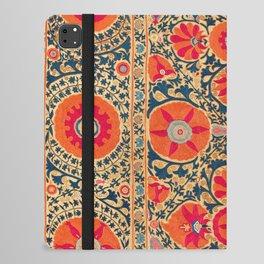Kermina Suzani Uzbekistan Print iPad Folio Case