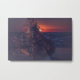 Wash Away Metal Print