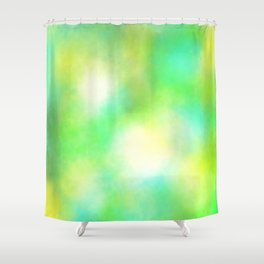 Mint Candy Shower Curtain