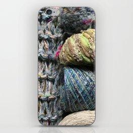 Knitter II iPhone Skin