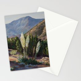The Sentinels of the California Desert Stationery Cards