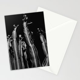 Cactus - black and white Stationery Cards