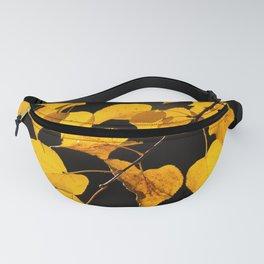 Autumn Foliage Yellow Leaves #decor #buyart #society6 Fanny Pack