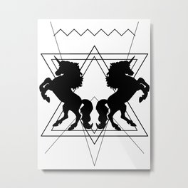 trash unicorns Metal Print