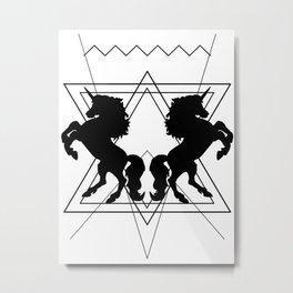 trash unicorns Metal Print