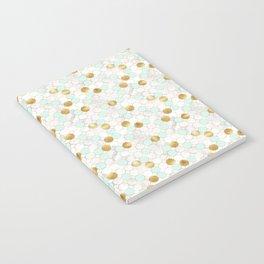 Mint & Gold - daseot Notebook