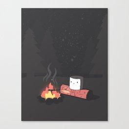 'Mallow Bonfire Canvas Print
