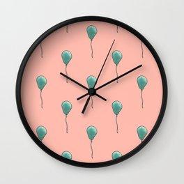 Balloon Pattern Wall Clock