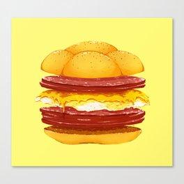 Pork Roll, Egg, & Cheese Canvas Print