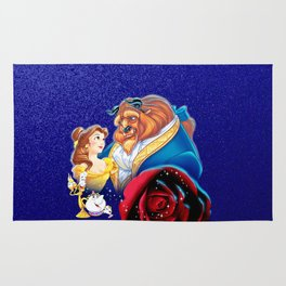 BEUTY AND THE BEAST Rug
