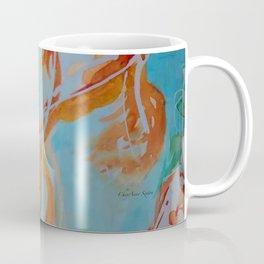 GoldFish Bubbles 1ne watercolor by CheyAnne Sexton Coffee Mug
