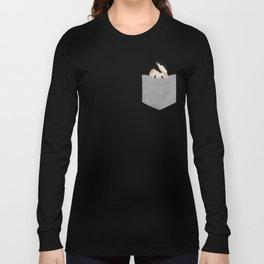 Chickadee pocket pal Long Sleeve T-shirt