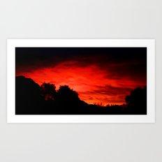 Daybreak - Painting Style Art Print