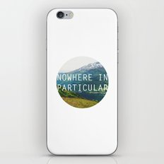 nowhere in particular iPhone & iPod Skin