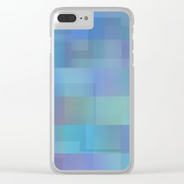 Peaceful Vacation Clear iPhone Case