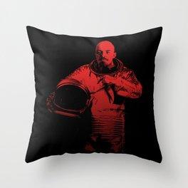 Cosmonaut Vlad Throw Pillow