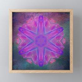 Jeweled splendor in vibrant pink Framed Mini Art Print